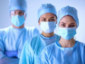 Chirurgen-Team